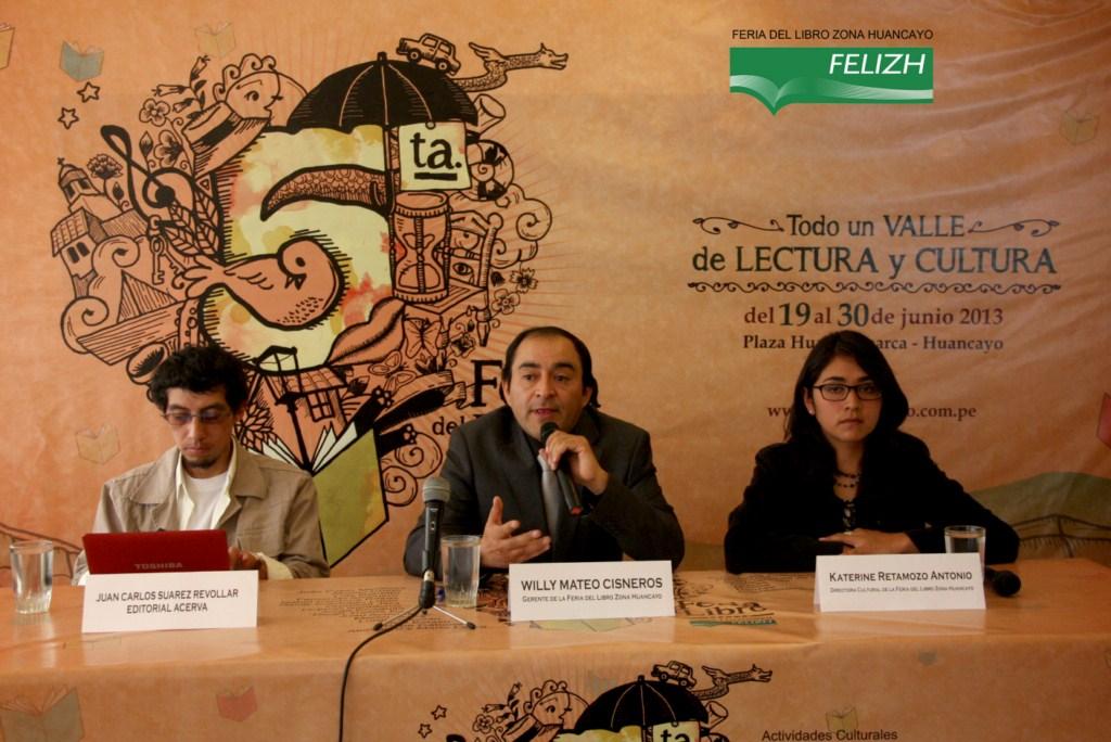 Lanzamiento FELIZH2013 0