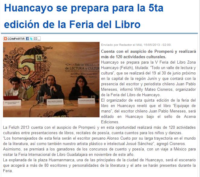 15-02-13 Diario Expreso