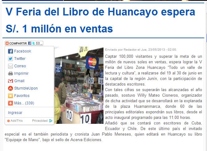 25-05-13 Diario Expreso